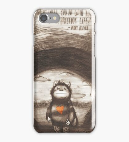 Wild Precious Life [ver. 1] iPhone Case/Skin