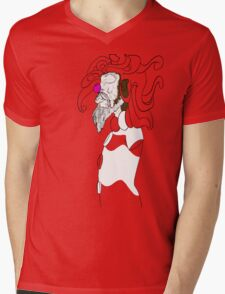 The Content Clown [For Light Colors] Mens V-Neck T-Shirt