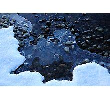 Blue Ice - Loch Rannoch Photographic Print