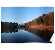 A day at the Meugliano Lake Poster