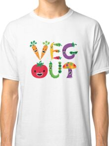 Veg Out - light colors Classic T-Shirt
