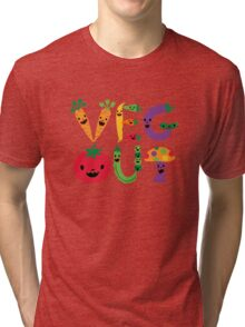 Veg Out - light colors Tri-blend T-Shirt