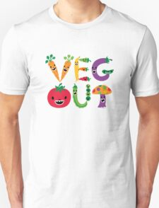 Veg Out - light colors Unisex T-Shirt