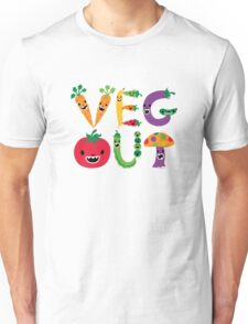 Veg Out - light colors T-Shirt