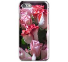 Pink and red roses iPhone Case/Skin