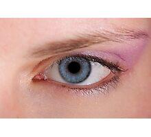 Eye Macro  Photographic Print