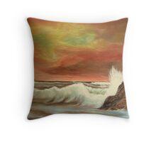 Seascape 1 Throw Pillow