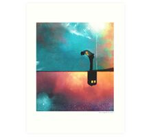 Peace for Lonely Monsters Art Print