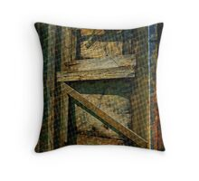 All Boarded Up Variation Throw Pillow