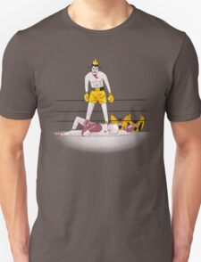 Float like a butterfly sting like a poison dart (color version) T-Shirt