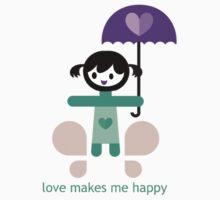love makes me happy by kijujik
