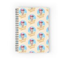 Geno Says Relax mosaic Spiral Notebook