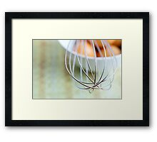 Bake me beautiful Framed Print
