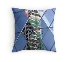 Constructed Construction Throw Pillow
