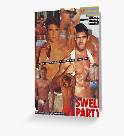 Swell Party Greeting Card