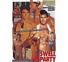 Swell Party Photographic Print