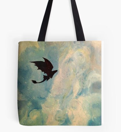Toothless in the Sky Tote Bag