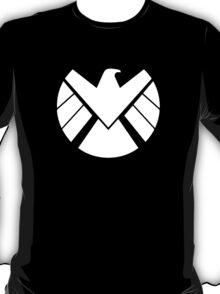 Shield Emblem [White] T-Shirt