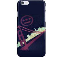 Stencil Golden Gate San Francisco iPhone Case/Skin