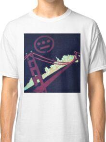 Stencil Golden Gate San Francisco Classic T-Shirt