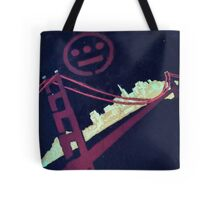 Stencil Golden Gate San Francisco Tote Bag