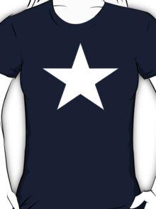 Captain America Star Shirt T-Shirt