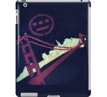 Stencil Golden Gate San Francisco iPad Case/Skin