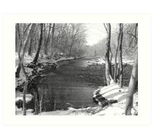 cold water creek Art Print