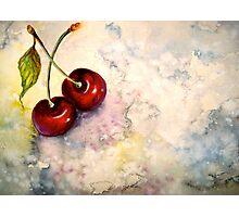 Cherries.. Pure Heaven Photographic Print