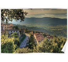 Cortona Tuscany Poster