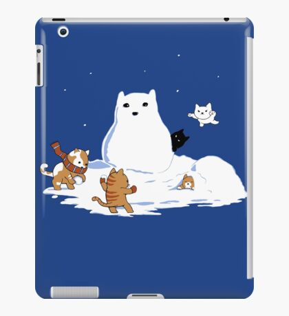 Snowcat iPad Case/Skin