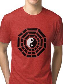 Pakua - Eight Trigrams design (Black) Tri-blend T-Shirt