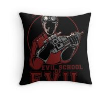 Dr. Horrible's Evil School of Evil Throw Pillow