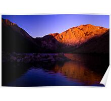 Dawn at Convict Lake Poster