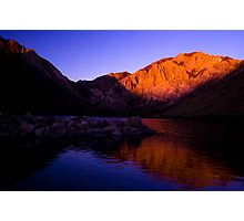 Dawn at Convict Lake Photographic Print