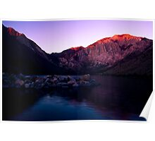 First Light, Convict Lake Poster