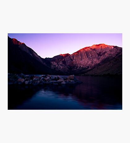 First Light, Convict Lake Photographic Print