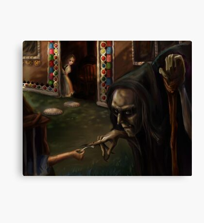 Deceiving the Witch Canvas Print