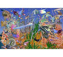 Fractal Fish Tank Photographic Print