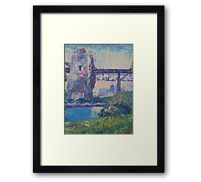 Sydney Harbour Bridge Northside Framed Print