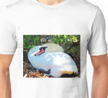 Swan On Her Nest Unisex T-Shirt