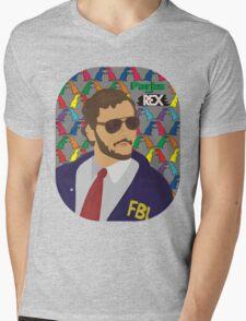 Parks and Rex Mens V-Neck T-Shirt