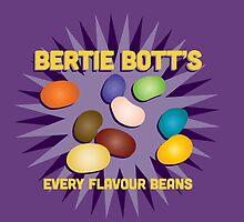 Bertie Bott's Every Flavour Beans - Harry Potter by Daniela Walker Reed
