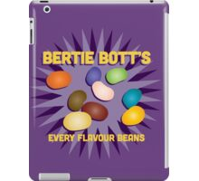 Bertie Bott's Every Flavour Beans - Harry Potter iPad Case/Skin