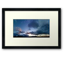 ©HCS Freedom Blue IA. Framed Print