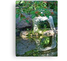 Pagoda Reflects Canvas Print