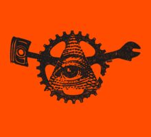 All Seeing Road God Eye by wrenchNrideN