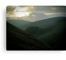 ravines Canvas Print