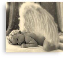 A Little Angel Canvas Print