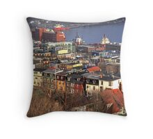 When your Downtown Throw Pillow